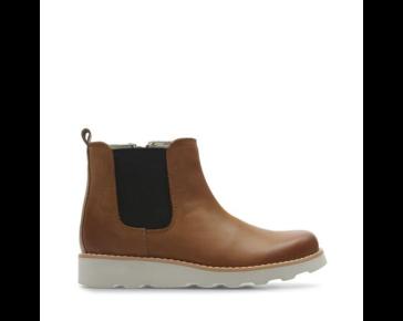 Brown boys boot