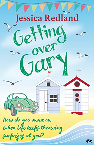 Book cover for Getting Over Gary' - depicts beach scene